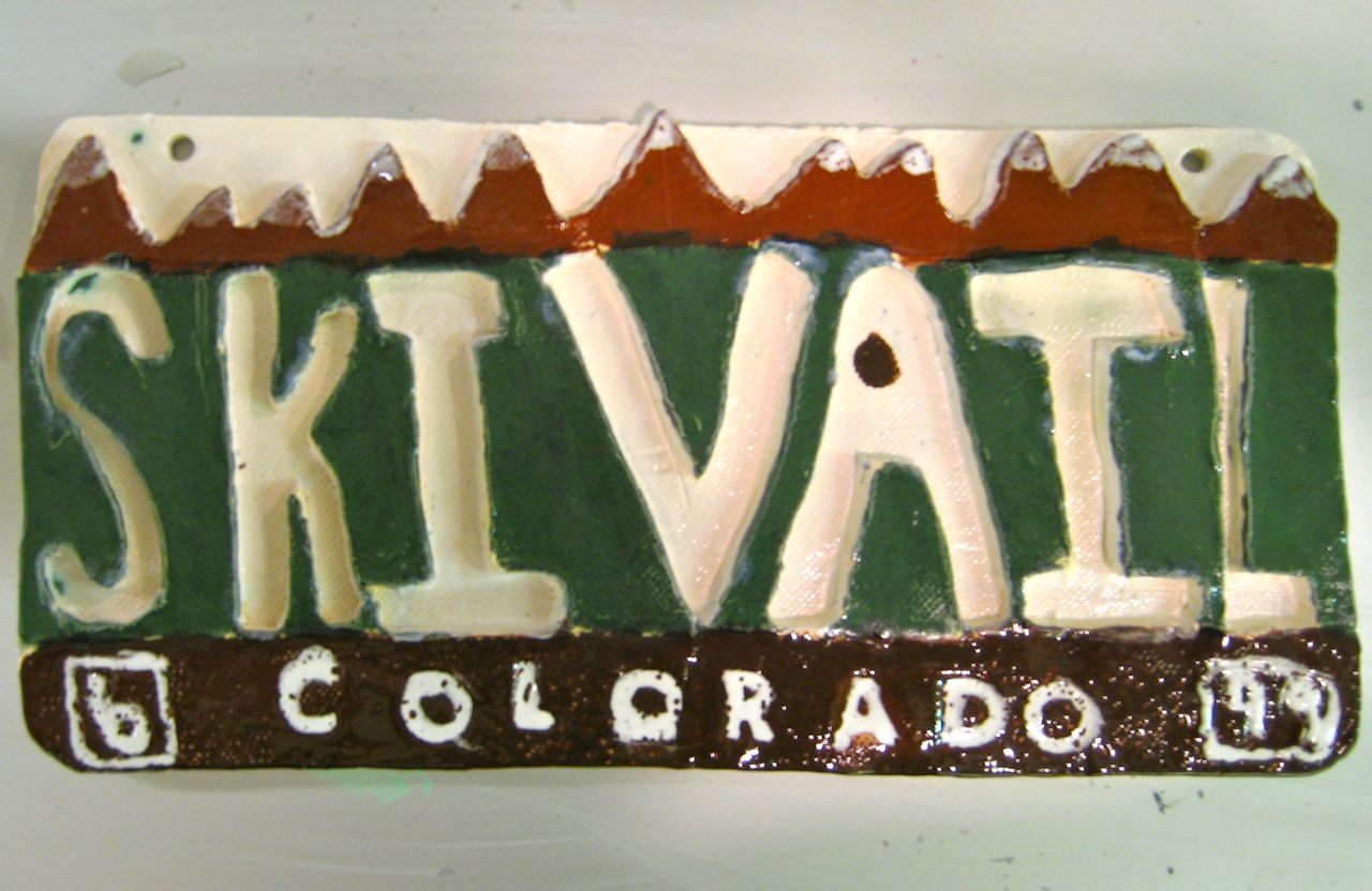 vail license plate